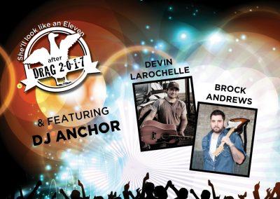 Agriculture Students Association - Concert Poster