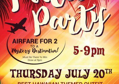 Birmingham's Vodka & Ale House - Event Poster