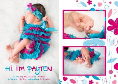 Raquel Caffet - Baby Announcement