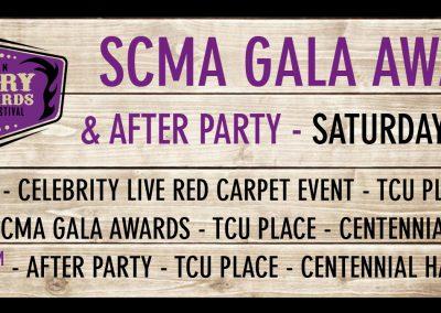 SCMA Awards - Tickets
