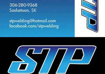 STP Welding - Business Cards