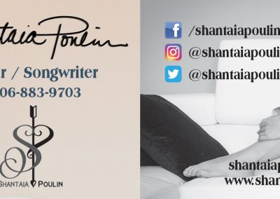 Shantaia Poulin - Business Cards