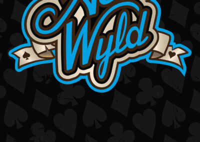 Aces Wyld Band Rollup Banner