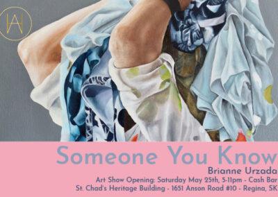Brianne Urzada - Art Gallery Invite