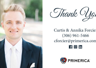 Curtis Forcier - Business Card Magnets