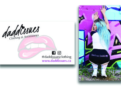 Daddissues Clothing - Business Cards