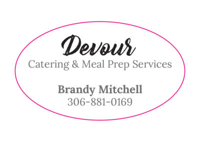 Devour Catering Labels