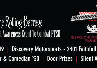 Discovery Motorsports - Rolling Barriage Fundraiser Tickets