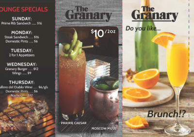 Granary - Tent Cards