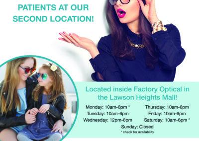 Kennedy Eye Clinic - Lawson Flyer