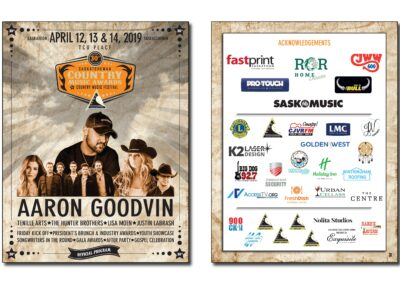 Saskatchewan Country Music Association - 2019 Awards Program